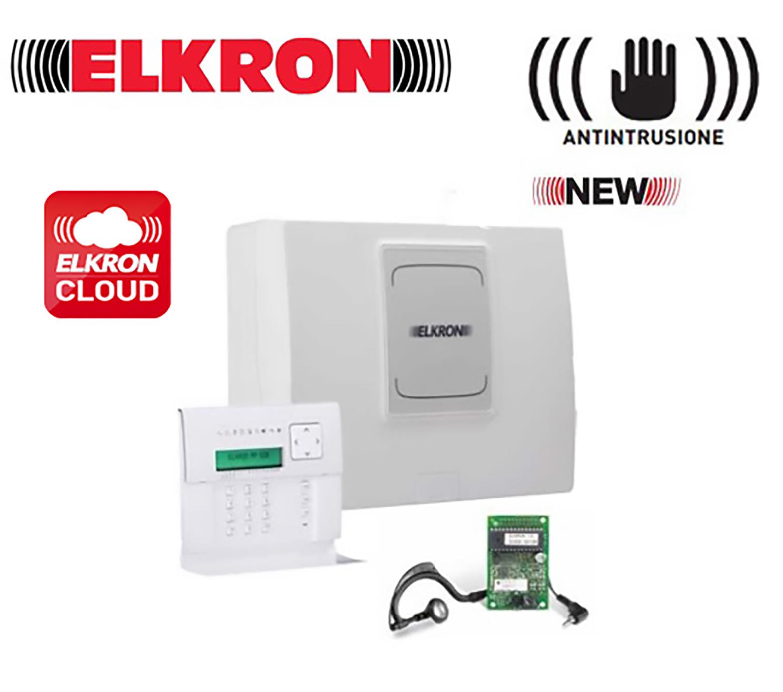 Elkron mp500 kit allarme antifurto con centrale mp500 8 - Prezzo allarme casa ...
