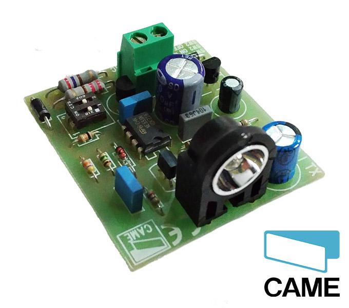 Came 119rir017 scheda ricambio ricevente rx per for Fotocellule came schema elettrico