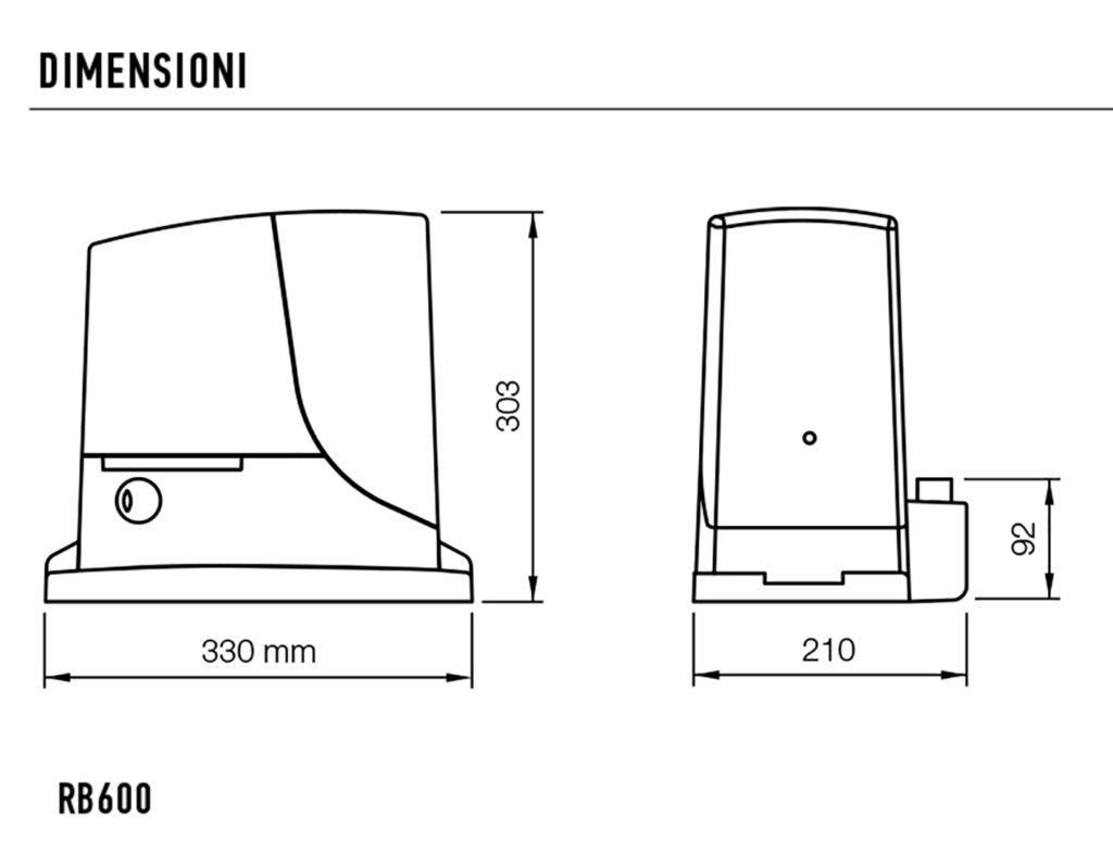 nice-rb600-dimensioni