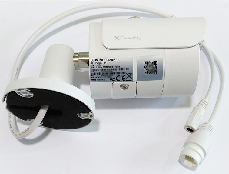 Plafoniera Da Esterno Con Telecamera : X security xs ipcv w telecamera ip wifi bullet mpx mm da