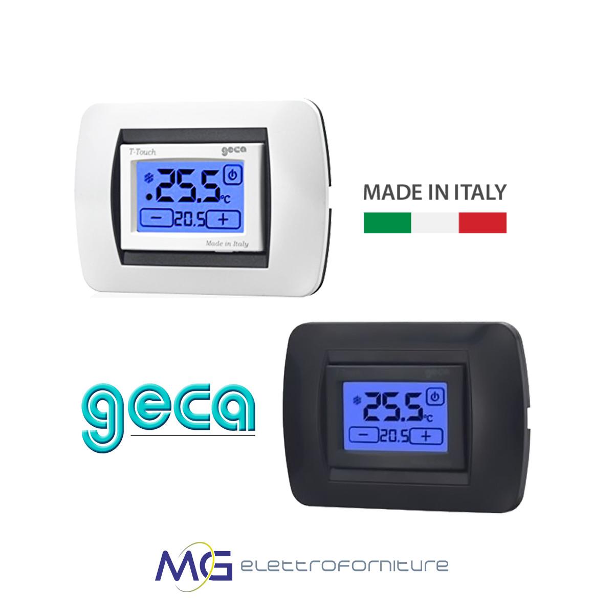 Geca_T-TOUCH_230V_Termostato_digitale_touch_screen_Display_retroilluminato_prezzo_migliore_basso_bianco_antracite