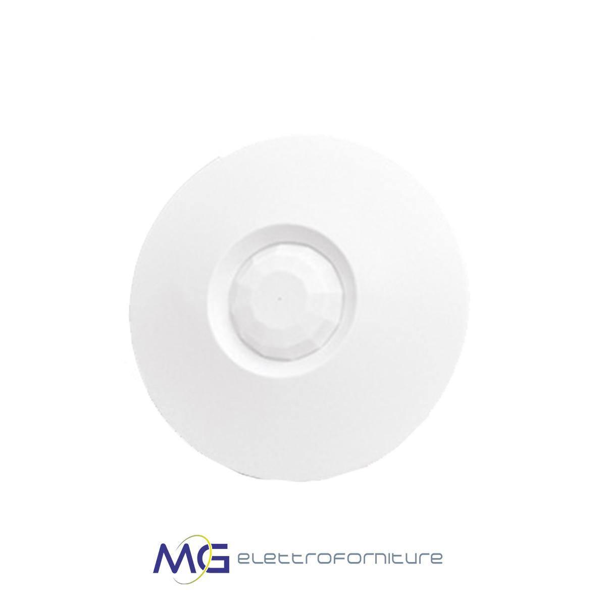 essegibi_moon_240_sensore_da_interno_a_soffitto_bianco_lente_grandangolare_mg_elettroforniture_prezzo_basso_migliore