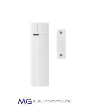 Elkron_DC6002I_Contatto_magnetico_2_ingressi_ausiliari_bianco_batterie_MG_Elettroforniture_prezzo_basso_migliore